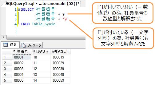 数値と文字列の連結1